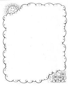 Maestros de Corazón: Notas para enviar a casa (En blanco para editar e imprimir) Doodle Borders, Borders For Paper, Borders And Frames, Page Borders Design, Border Design, Coloring Books, Coloring Pages, Doodle Frames, Arts And Crafts