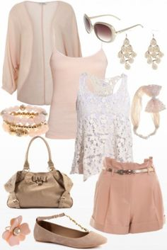 Day to night summer outfit - love it! <3