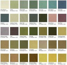 Ralph Lauren Paint Colors ralph lauren paint collection naturals | paint: rooms & swatches