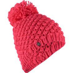 Spyder - Brrr Berry Pom Beanie - Women's - Bryte Pink
