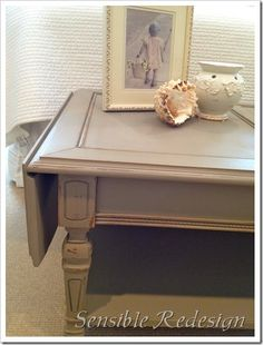 chalk paint coco. By Sensible Redesign.