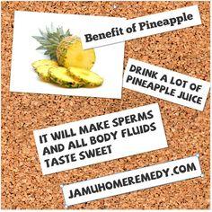 sperm+pineapple+juice