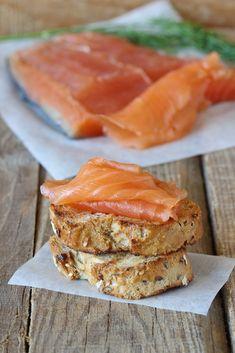 Saumon cru mariné (Gravadlax)