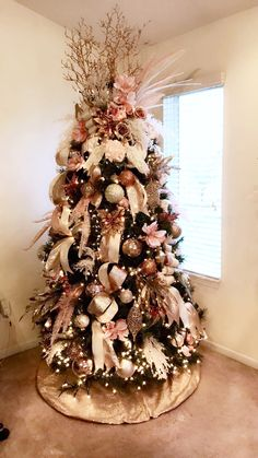 51 Best Gold Christmas Tree Images Christmas Trees Christmas Time