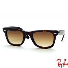 4e2e6c88d825b Ray Ban RB2140 902 51 Graduated brown 18mm Acetate (Plastic) Frame Unisex  Sunglass