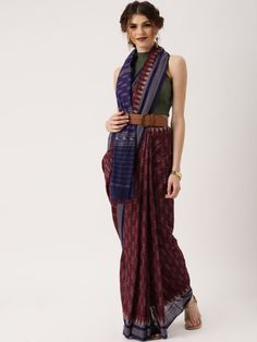 How to drape your cotton saree in different stylish ways. Use Westerns with this indian traditional attire for an experimental look!
