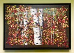 50 Ideas For Landscaping Art Nancy Zieman Landscape Art Quilts, Landscape Design Plans, Nancy Zieman, Modern Art Prints, Diy On A Budget, Rug Hooking, Fiber Art, Sewing Crafts, Giclee Print