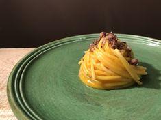 Pasta mantecata alla zucca e salsiccia