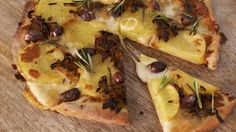 A simple pizza with classic flavours from Rachel Allen.