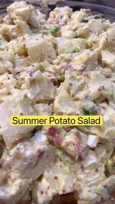 Summer Grilling Recipes, Summer Recipes, New Recipes, Dinner Recipes, Cooking Recipes, Favorite Recipes, Best Potato Salad Recipe, Easy Salad Recipes, Salads
