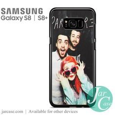 paramore music band Phone Case for Samsung Galaxy S8 & S8 Plus