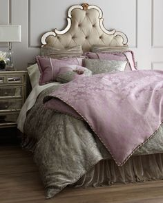 gorgeous embroidered bed linens  http://rstyle.me/n/fxtskpdpe