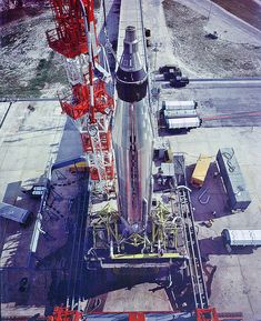 Mercury/Atlas rocket, Big Joe spacecraft, Pad-LC-14, September 9, 1959 by MrDanBeaumont, via Flickr