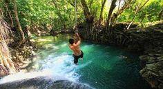 Air Terjun Diwu Mbai - Objek Wisata Di Pulau Moyo Sumbawa