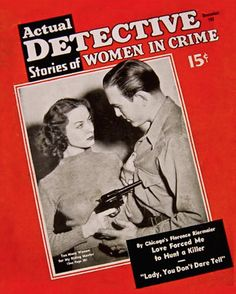 Actual Detective Stories Of Women In Crime - December 1939
