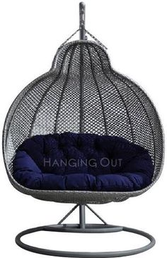Roma - Double Hanging Swing Chair - 1