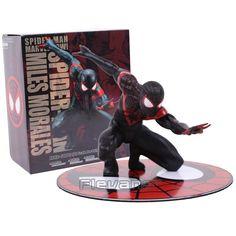 "ArtFX - Spider-Man - Miles Morales - 7"" Scale Statue Figure"
