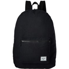 Herschel Supply Co. Packable Daypack (Black 1) Backpack Bags ($40) ❤ liked on Polyvore featuring bags, backpacks, knapsack bags, lightweight daypack, herschel supply co backpack, strap bag and lightweight backpack
