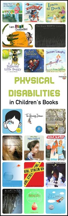 physical disabilities in children's books to teach empathy and kindness
