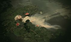 Ophelia Dreams Away Her Life: Photography by Dorota Gorecka | Illusion Magazine