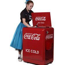1930's Coca Cola machine