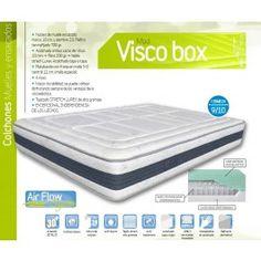 Colchón de muelles ensacados y viscoelástica modelo VISCO BOX de NORCOLCHÓN.