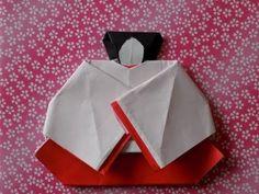 """折り紙のお雛様 三人官女(座っている官女)の折り方作り方 """"Hina Doll"""" Origami - YouTube Washi, Origami Paper, Diy And Crafts, Bullet Journal, Handmade, Youtube, Paper Envelopes, Dekoration, Hand Made"""