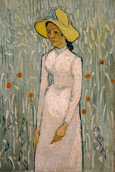 Girl in White, 1890 - Vincent Van Gogh