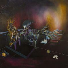 50x50 cm acryl and oil on canvas
