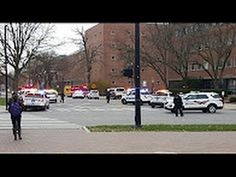 Ohio State attack: Suspect with 'long knife' killed as eight victims rushed to hospital - YouTube
