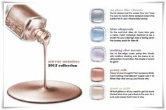 essie metallic colors 2012