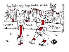 Hoe #Ajax zijn tegenstander Molde. Door Henk Veen #Ajax #molaja