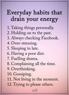 Quotes Sayings and Affirmations Everyday habits draining your life Positive Affirmations, Positive Quotes, Motivacional Quotes, Truth Quotes, Stress, Self Care Activities, Self Improvement Tips, Life Advice, Self Development