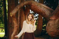 Zoe at Arundel Castle; Zoella, Zoe Sugg, Fall Lookbook, Shirt Skirt, Girl Online, Favim, Girl Falling, Celebs, Celebrities