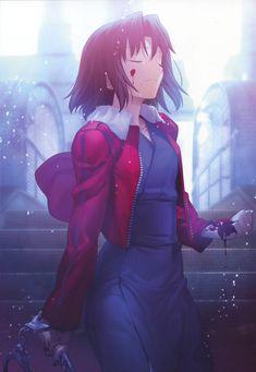 kara no kyoukai Part 2 - - Anime Image Fate Stay Saber, Fate Stay Night, Loli Kawaii, Kawaii Anime, Beautiful Anime Girl, I Love Anime, Chica Anime Manga, Anime Nerd, Rikka And Yuuta