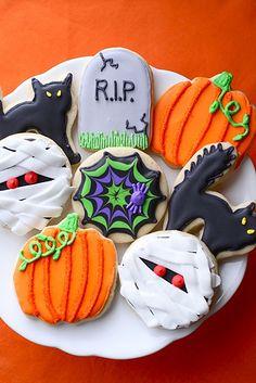 halloween cookies / galletas de Halloween
