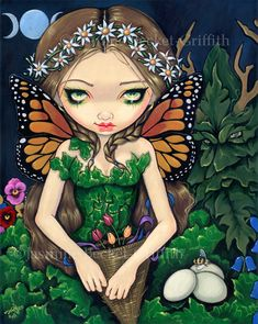 May Queen by Jasmine Becket-Griffith