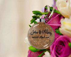 Gift for Couple Personalized Wedding Ornament Husband and