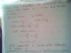 Maths: Equation of circle in cartesian form -solved quest...