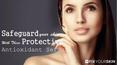 The best antioxidant serum for acne prone skin will help fight breakouts, eliminate oil, and boost radiance. The best antioxidant serums also moisturize skin and relive discoloration over time. Antioxidant serums are very helpful in fighting skin problems like fine lines, wrinkles and other signs of aging.#Antioxidant #Serums #Skincare #Organic #Beauty #FixYourSkin #AntiAging #Wrinkles #Moisturizers