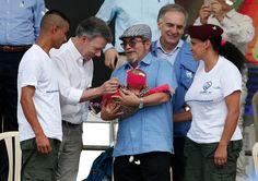 <p>Mesetas, Colombia.- El jefe de las FARC, Rodrigo Londoño, afirmó este martes que esa guerrilla cumplió con Colombia al dejar las armas