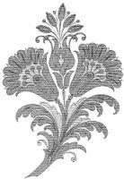 Gallery.ru / Фото #27 - Embroidery II - GWD Crewel Embroidery, Embroidery Patterns, Hamsa Design, Doodles Zentangles, Crochet Motif, Irish Crochet, Flower Patterns, Art Patterns, Stencil Designs
