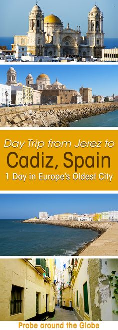 Day Trip by Train Jerez to Cadiz Spain. Top things to do in Cadiz #spain 1 day in the oldest city of #Europe.