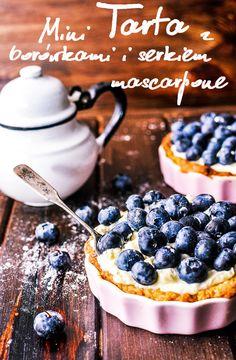 Pyszne Kadry: Mini tarta z borówkami i serkiem mascarpone