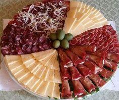 Antipasti Platter, Appetizer Recipes, Appetizers, Italian Themed Parties, Italian Party, Brunch, Spanish Tapas, Croatian Recipes, Food Displays