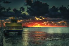 Ferry Sunrise by Alexey Grigoryev on 500px