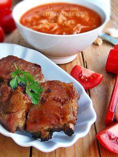 A paradicsomos káposzta is a megosztó ételek egyike. Én mindig szerettem, így nem tudok nyilatkozni arról, hogy más... Steak, Pork, Chicken, Kale Stir Fry, Steaks, Pork Chops, Beef, Cubs