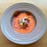 Salade composée et Gaspacho en l'honneur du printemps
