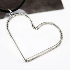 #hearts #silver #handmadejewelry #pendant #picart