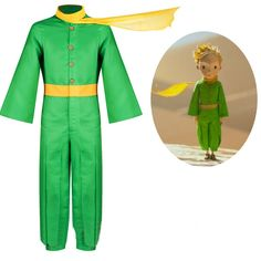 Department Name:kids;Gender:unisex Material:Polyester;Fabric Type:Uniform cloth Sleeve Length:Full Characters: The Little Prince Color:as sho